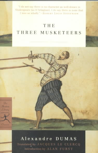 The Three Musketeers By Dumas, Alexandre/ Le Clercq, Jacques (TRN)/ Furst, Alan (INT)